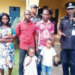 Good Move!! Police Return Children Sold For N200,000 To Parents (Photo)