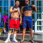 D'banj And Cassper Nyovest Show Off Their Amazing Physique