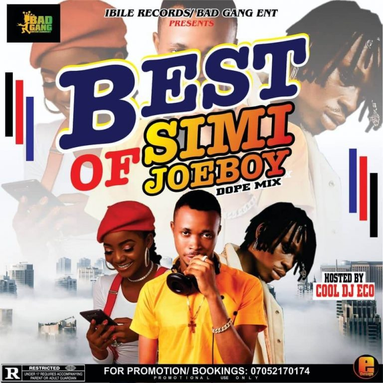 dj eco best of Simi & Joeboy