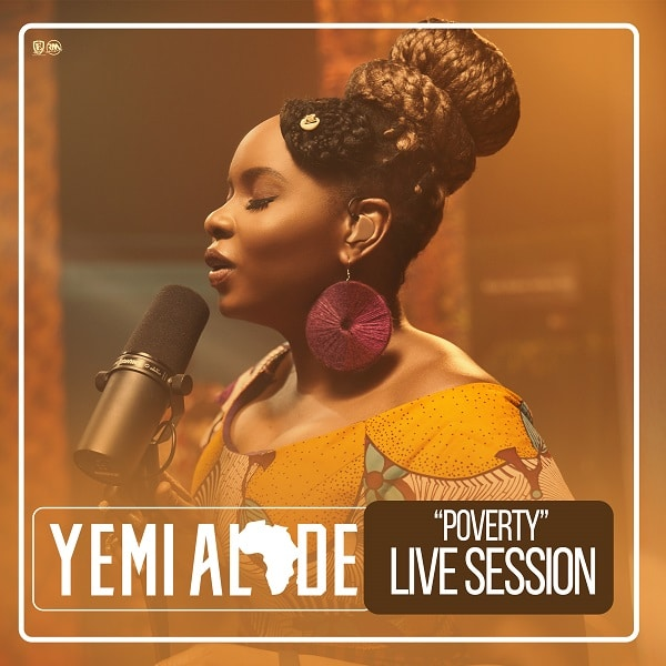 [Video] Yemi Alade – Poverty (Live Session)